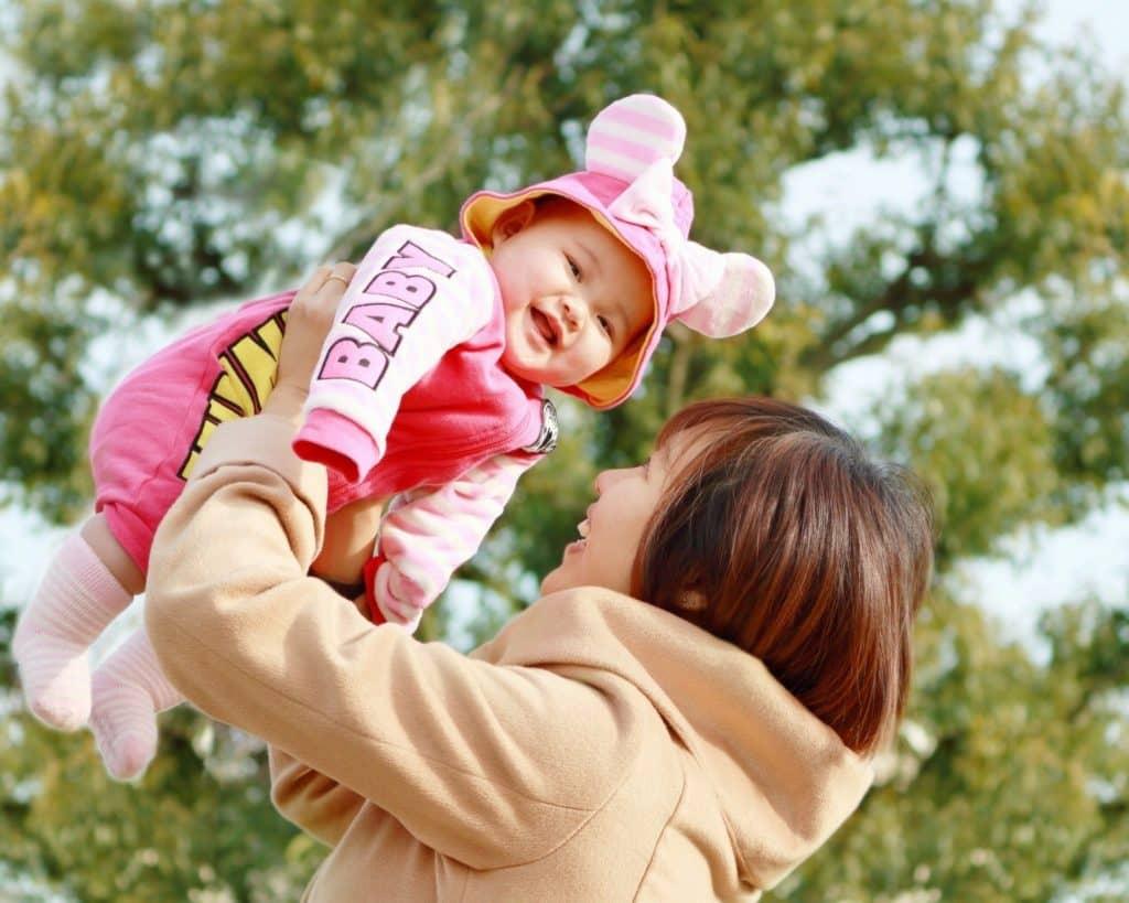 子供への愛情表現は欠かさない