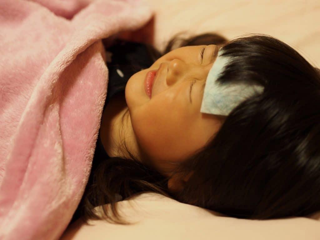 子供が病気の時の対応