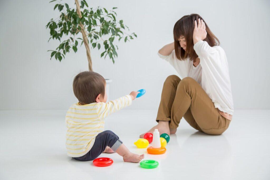 イヤイヤ期のストレスは圧倒的にママが多い!
