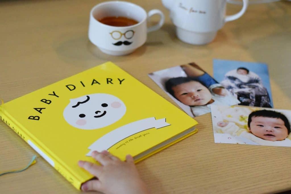 育児日記で日々の成長を記録する