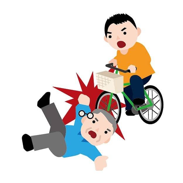 自転車で人を怪我させて1億円の賠償になったケース