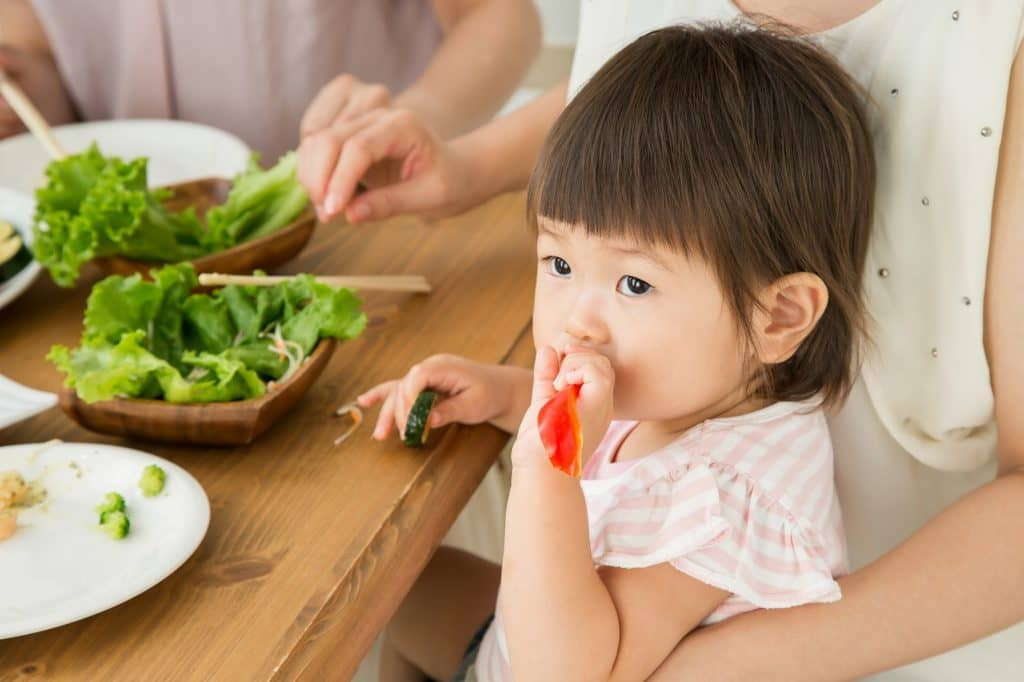 具体的な年齢別の食育活動の目的と内容