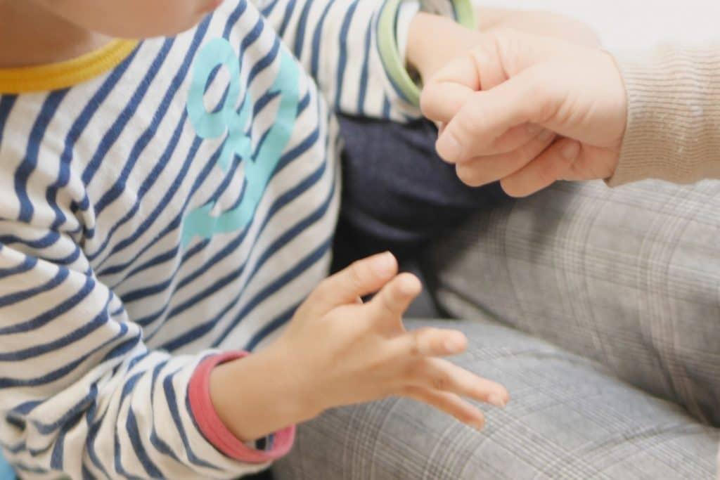 アットホームな環境で少人数で保育が受けられる