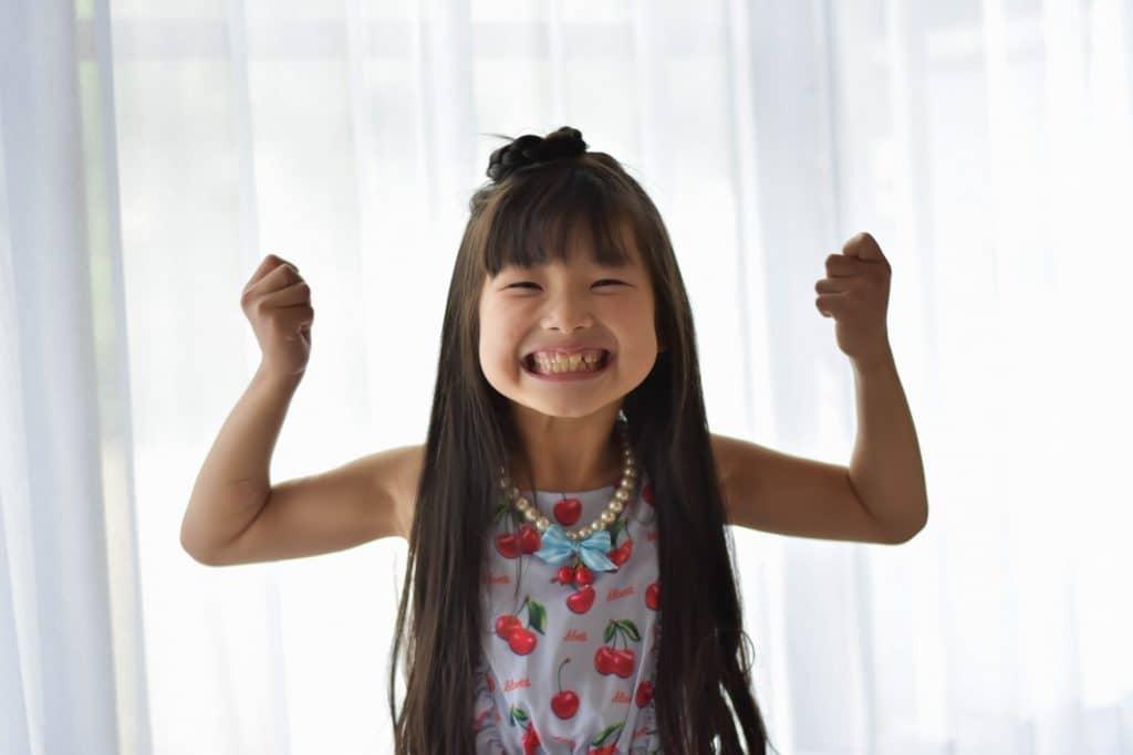 運動不足で子供の体力がありあまっている