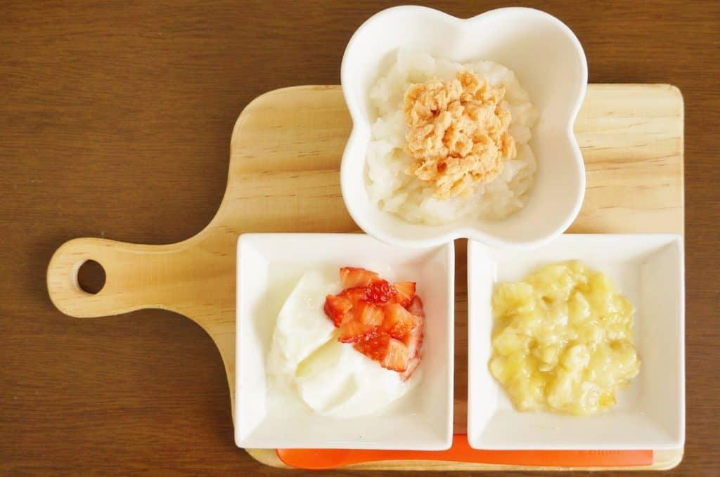 離乳中期の1回の食事量は?