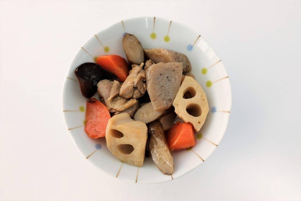 大人の料理のとりわけでOK! 味や固さを調節する