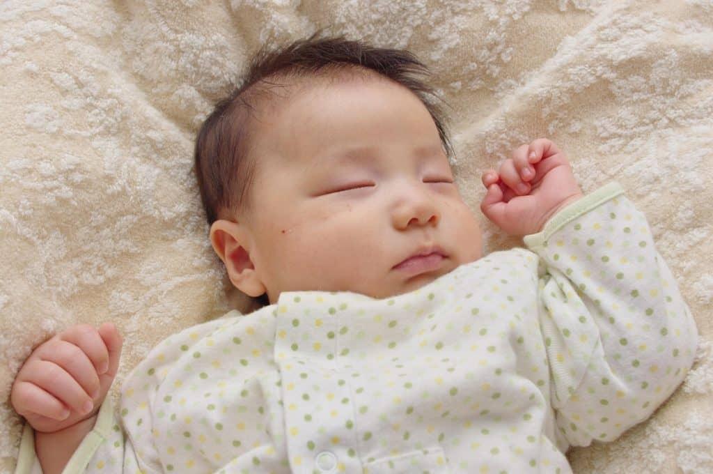 ベビーオイルの使い方:赤ちゃん編