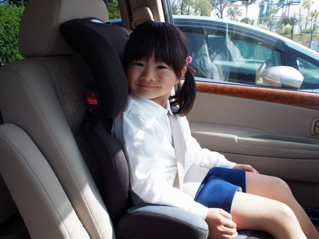 子どもの成長に合わせてチャイルドシートを変更できる