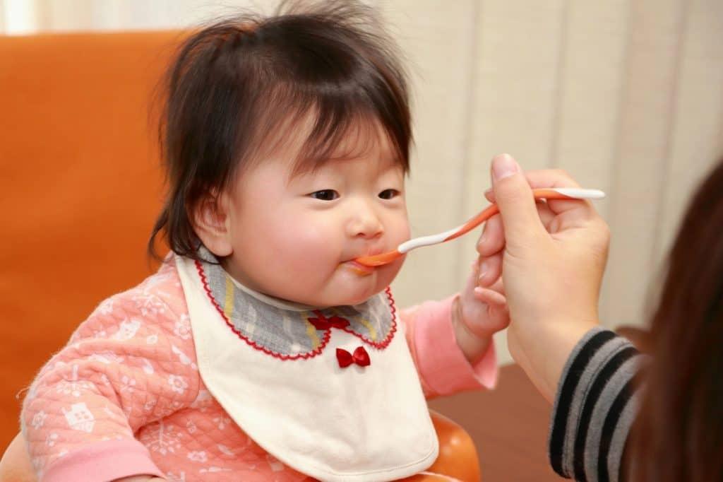 離乳食を食べる子と食べない子がいるのは何で?