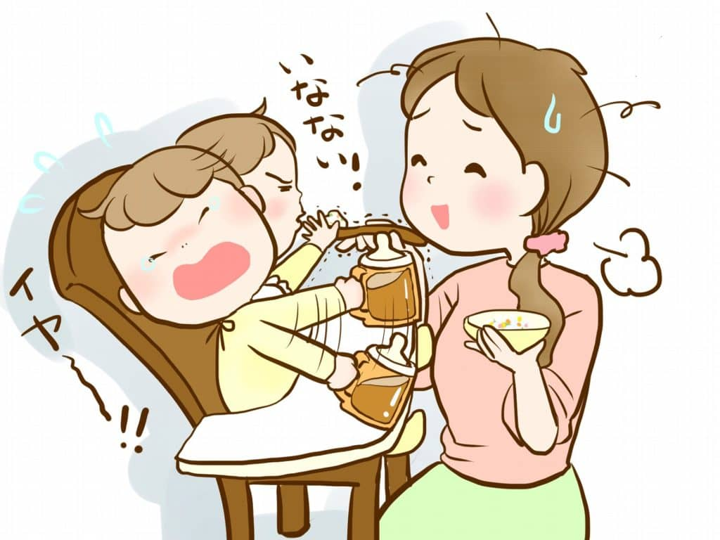 赤ちゃんが離乳食を食べない時の対策!