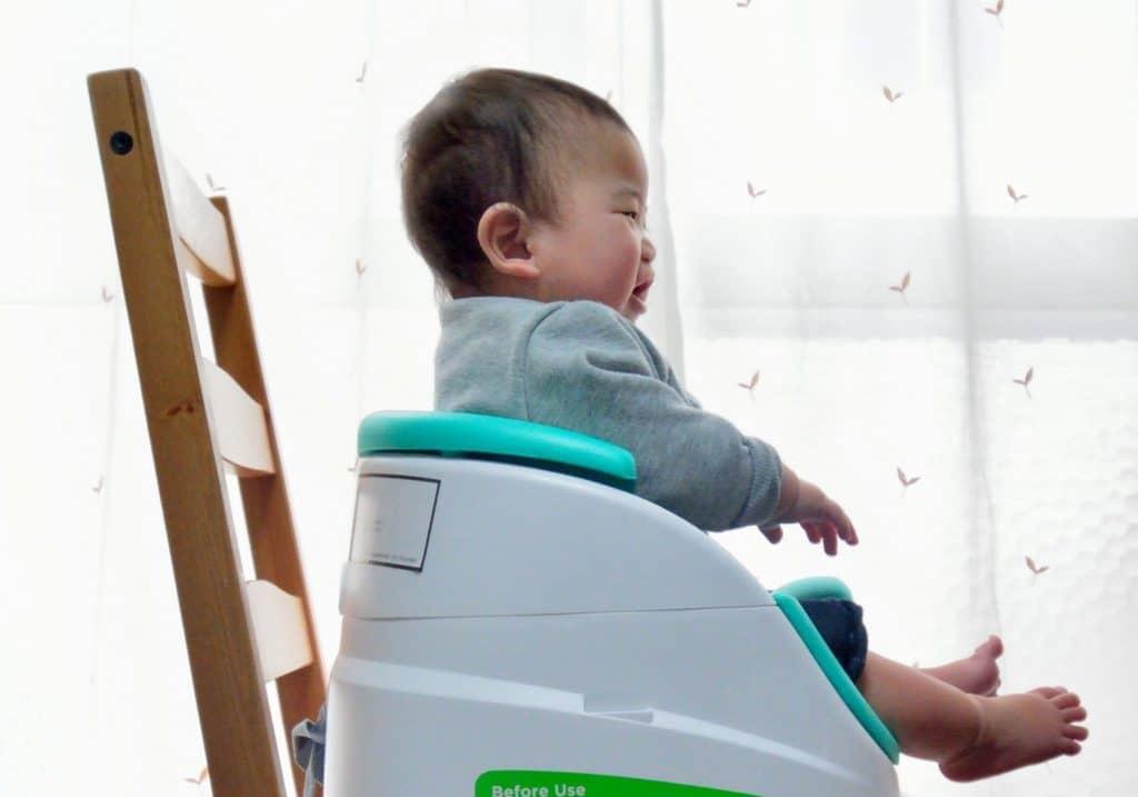 離乳食を食べない時の対策6:赤ちゃんが座る椅子や角度を変えてみる