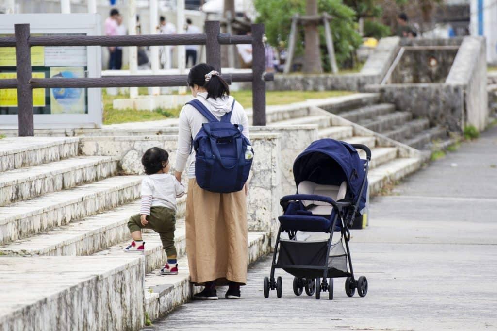 子供が歩けるようになった2歳半~3歳頃までベビーカーは活躍してくれる