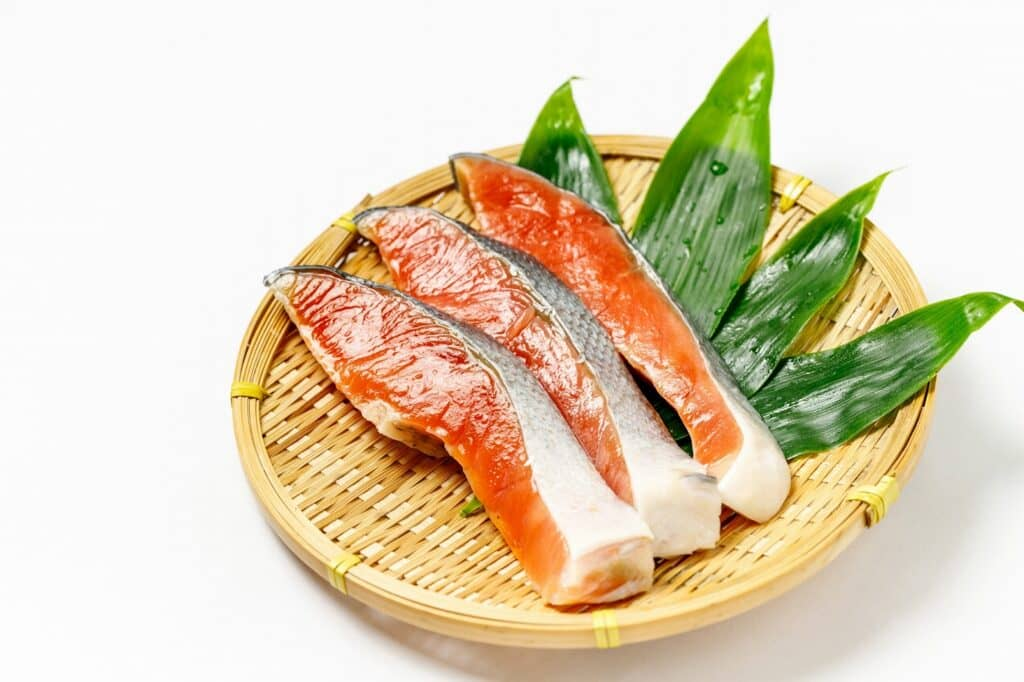 離乳食中期の調理方法4:鮭