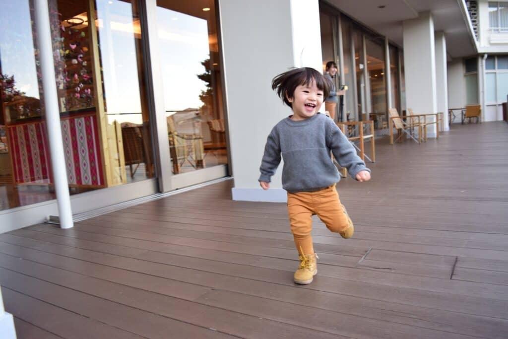 2歳児の運動能力の発達