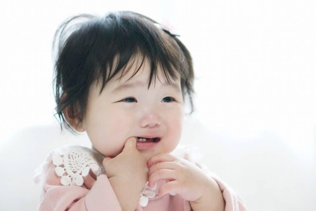 おすわりを嫌がる赤ちゃんは様子を見て
