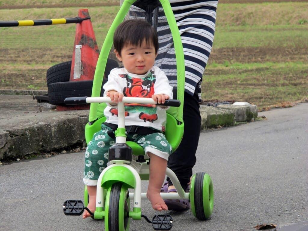 三輪車がおすすめなケース
