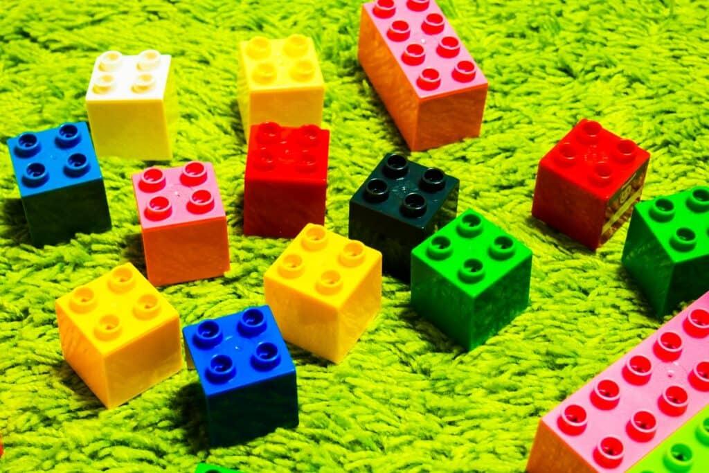 ブロックおもちゃの種類