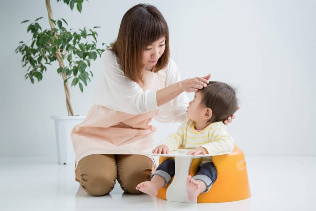 赤ちゃんの体温の特徴