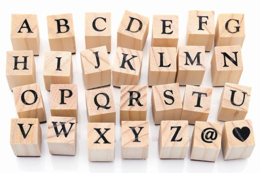 お名前スタンプの選び方5:ひらがな・漢字・ローマ字表記から選ぶ