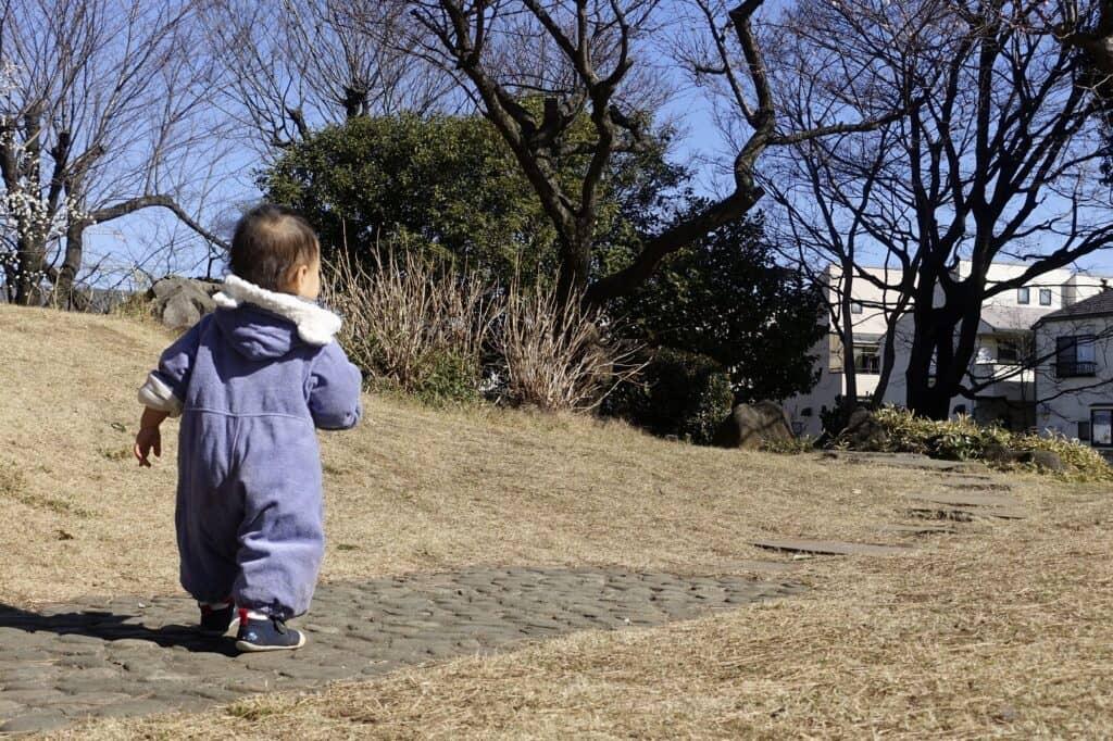 【冬】12~2月の赤ちゃんの服装