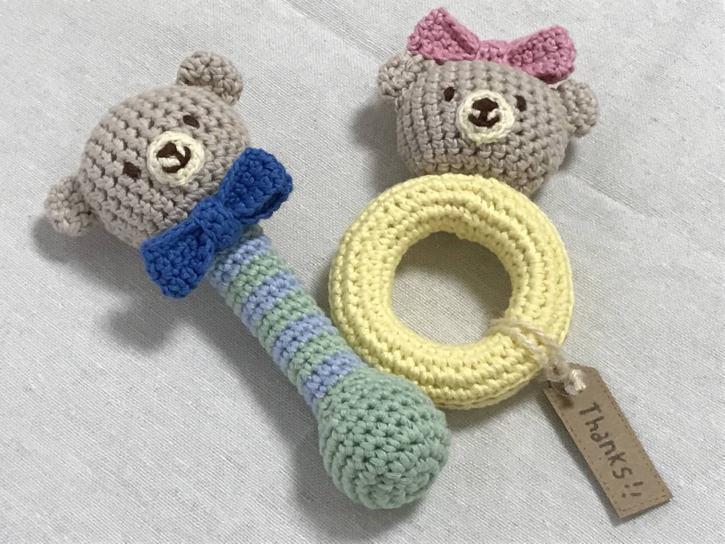赤ちゃんのおもちゃを選ぶなら手作りがおすすめ!素材選びと作るヒント集
