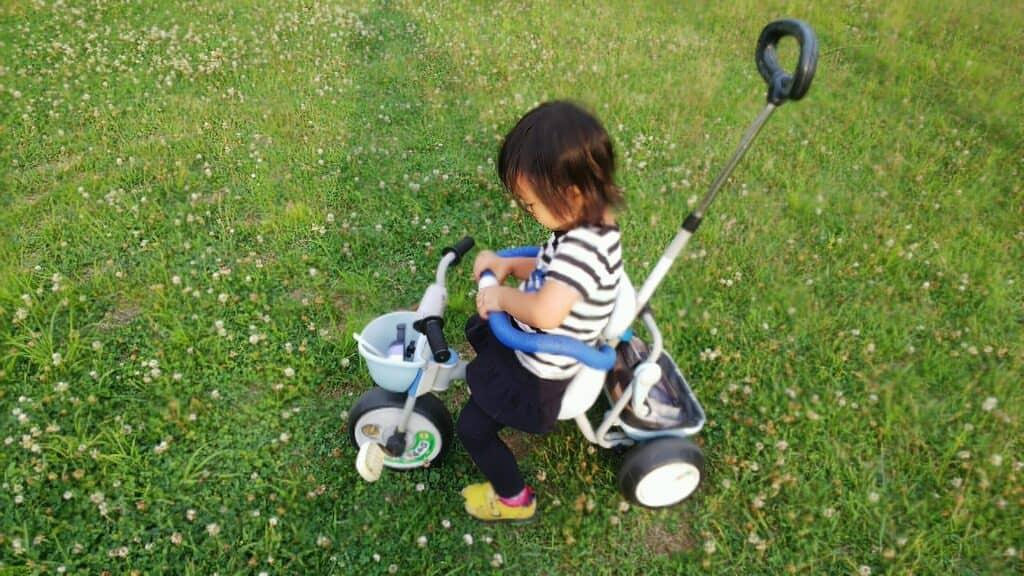 三輪車は心身の成長に効果あり!