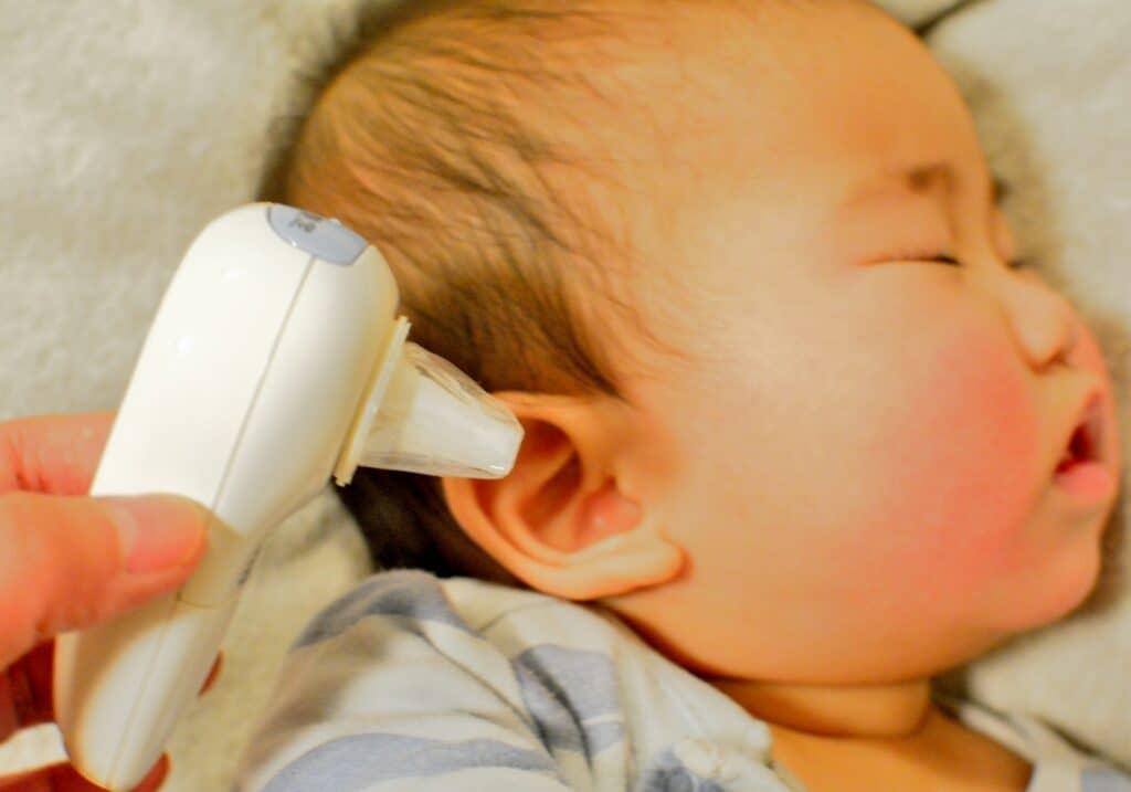 赤ちゃんの体温の正しい測り方