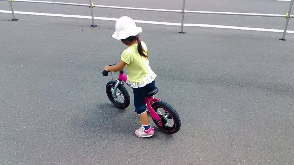 ストライダーの対象年齢は1歳半~5歳まで