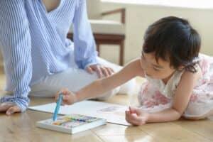 子供が喜ぶ絵描き歌をいくつ知ってる? 親子で楽しめる絵描き歌集