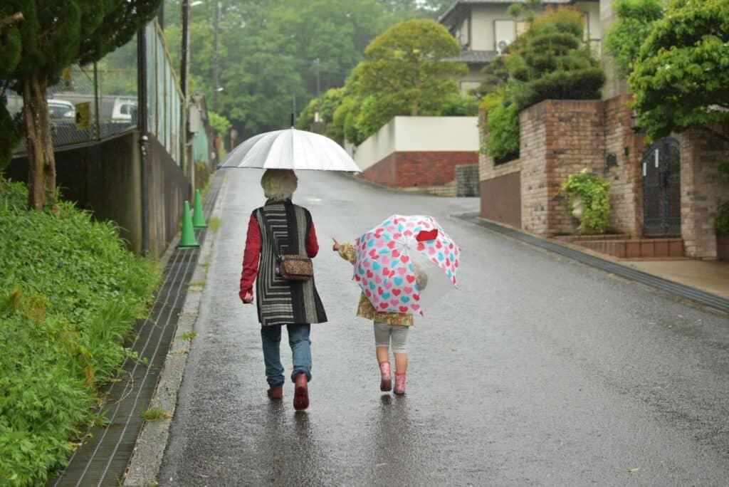 雨の日や、親の体調が悪いとき助かる