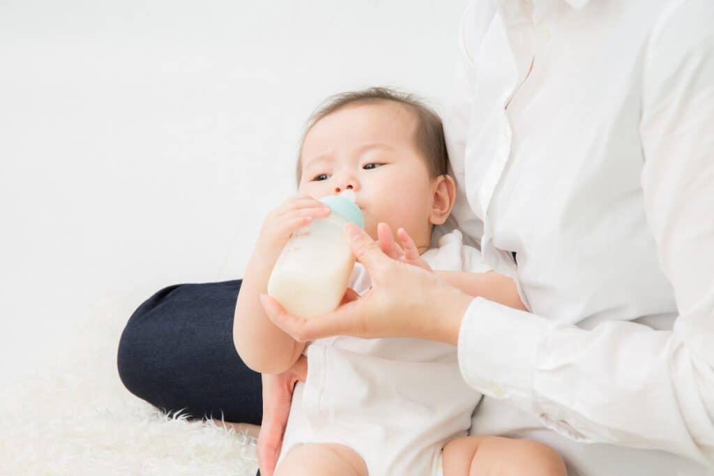 ミルクと母乳で成長に差は出ない