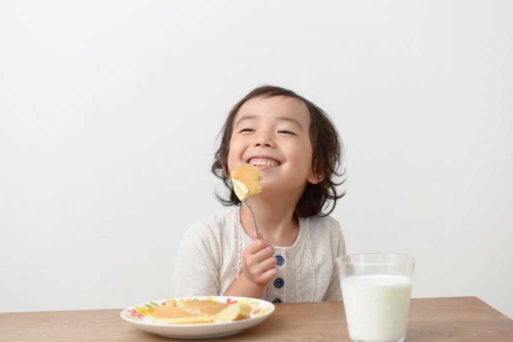赤ちゃんが一生食べ物に困らないようにとの願い
