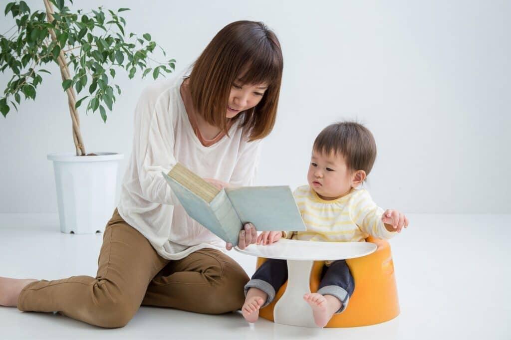 赤ちゃんと読む絵本を選ぶポイント