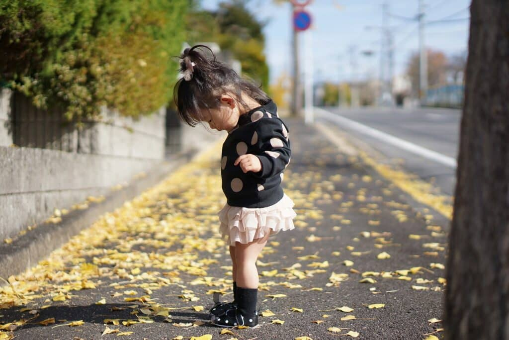 【秋】9~11月の赤ちゃんの服装