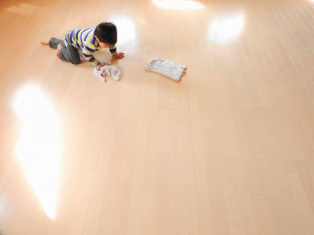 フローリング掃除の頻度は?