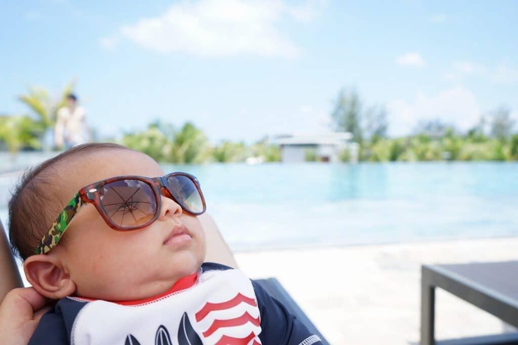 【夏】6~8月の赤ちゃんの服装