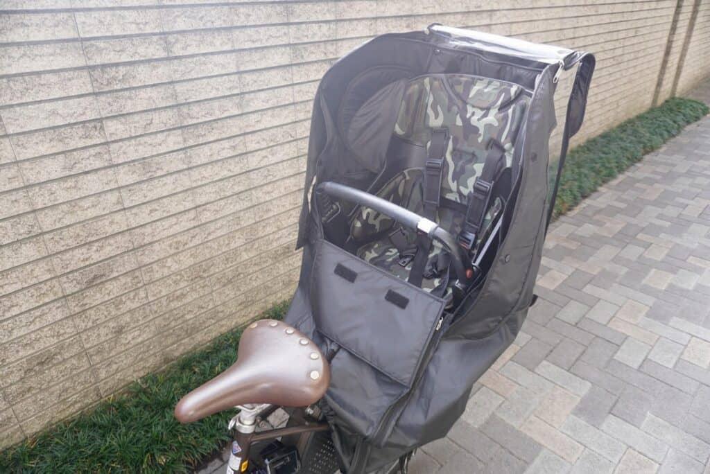 【後ろ座席用】おすすめの子供乗せ自転車のレインカバー6選