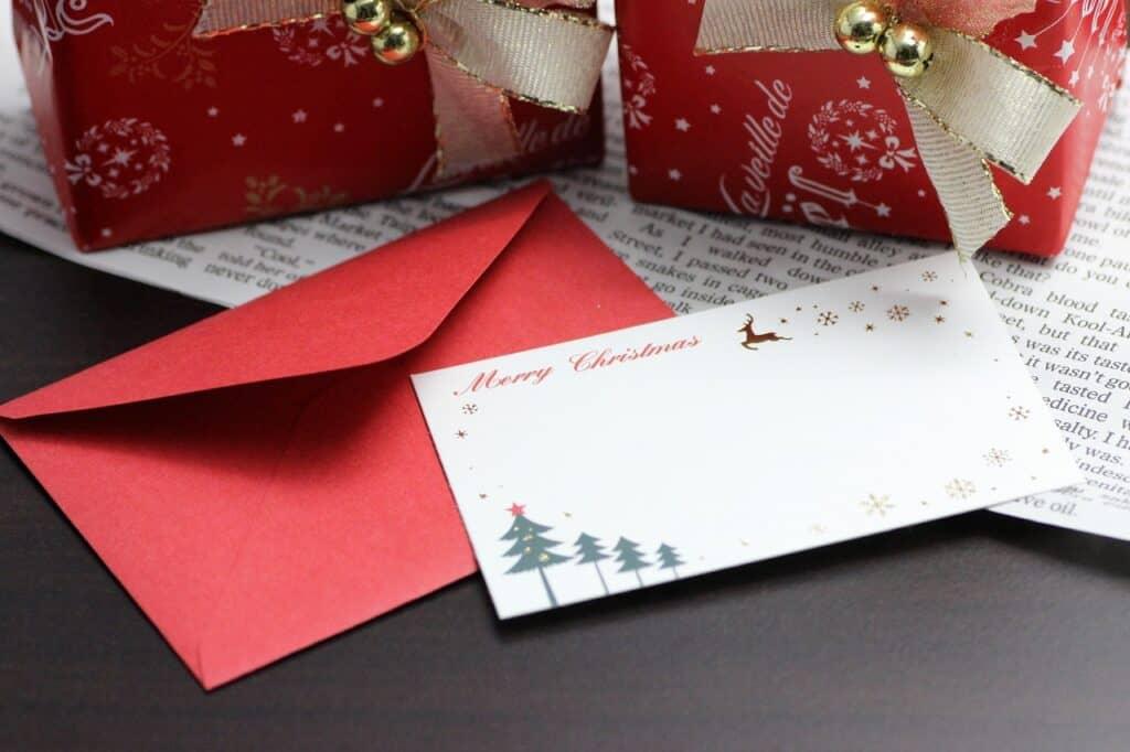 定番クリスマスカードメッセージ