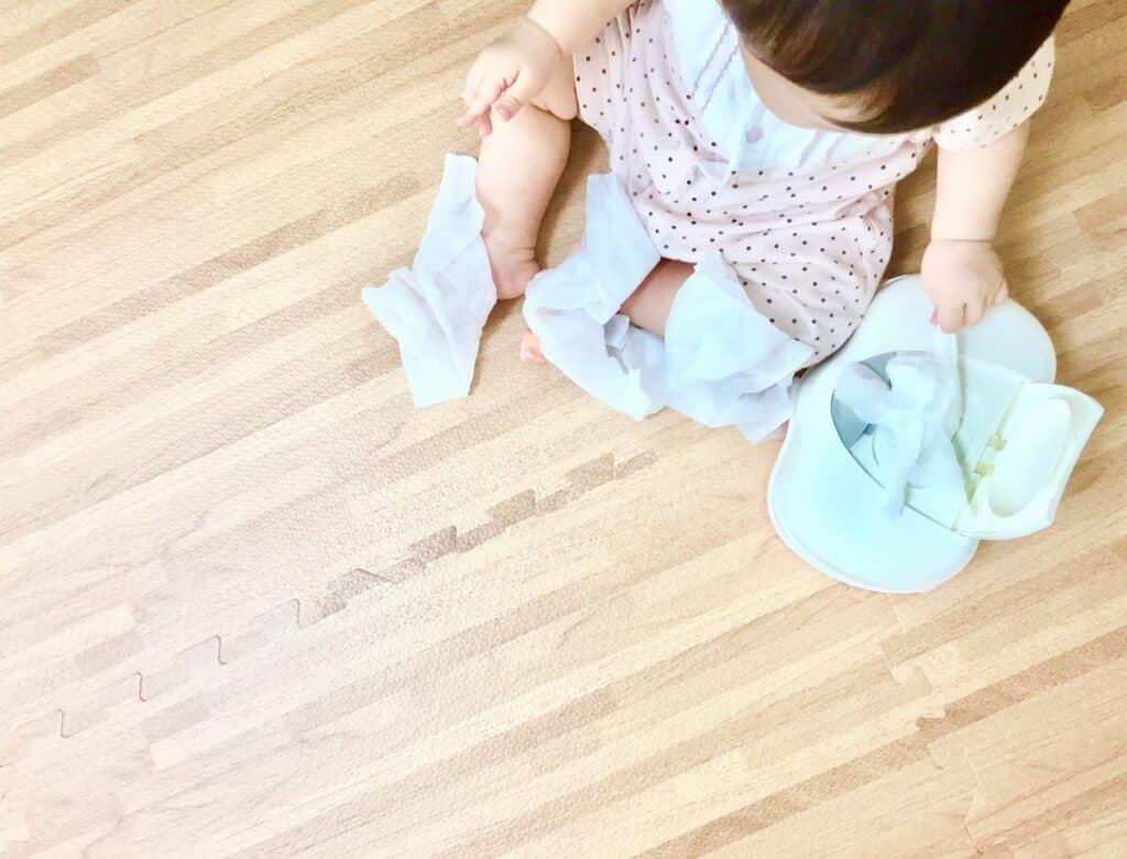おしりふきの乾燥を防ぐ