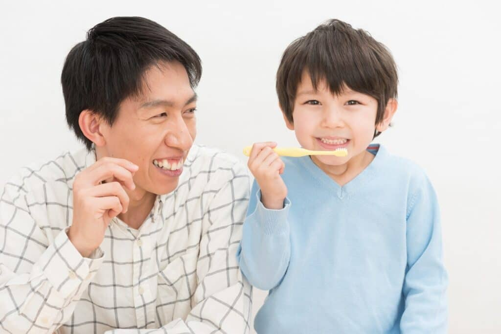 赤ちゃんの成長に合わせて歯磨き粉の種類を選ぼう