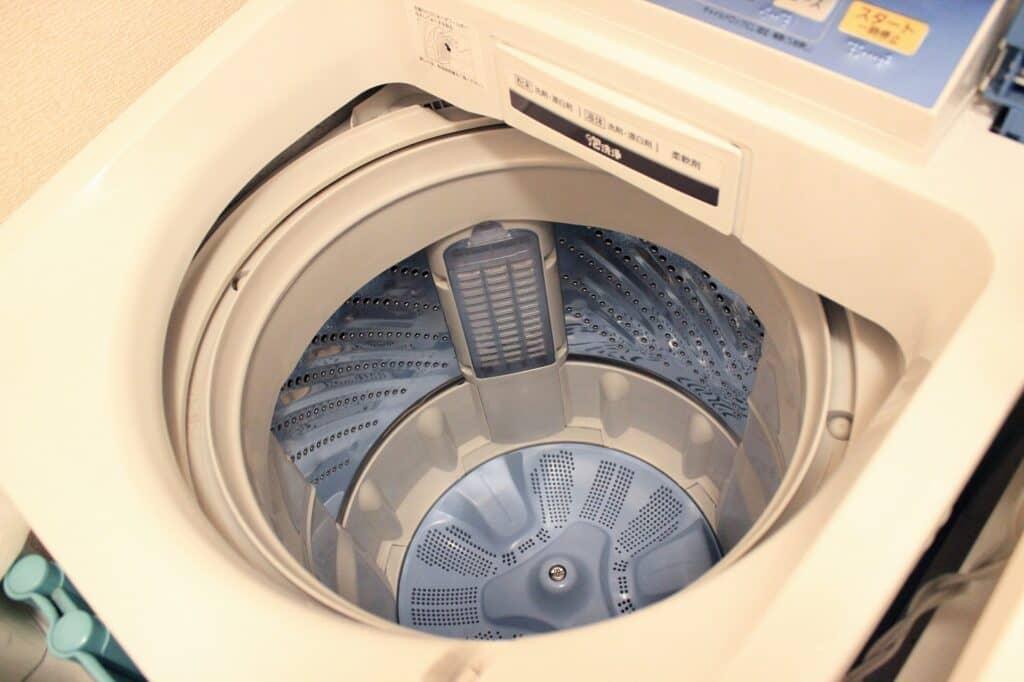 洗濯機も定期的にお掃除を