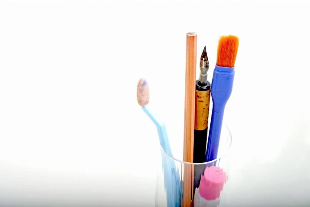 ガラス絵の具の使い方