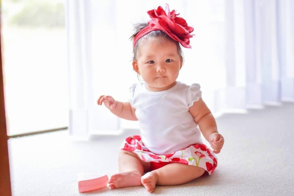 赤ちゃんのハーフバースデーをお祝いする理由