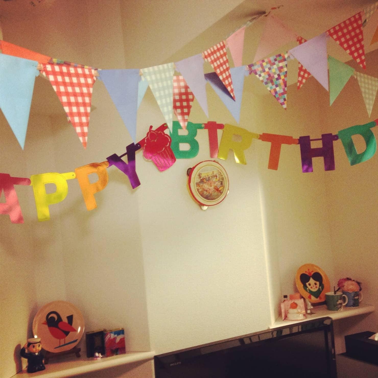 子供の誕生日の飾り付けアイディア! 100均や身近なアイテムでも華やかに!