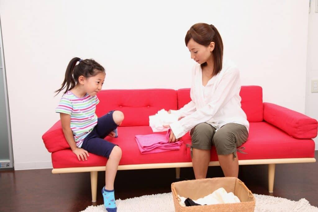 子供が自分で出し入れできる子供服収納のポイント