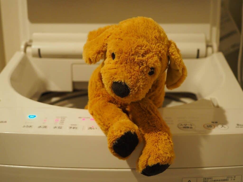 洗濯機で洗う方法