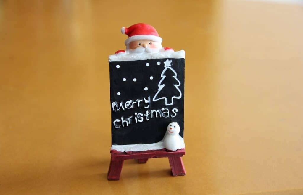 【英語版】サンタから子供へのクリスマスカードメッセージ