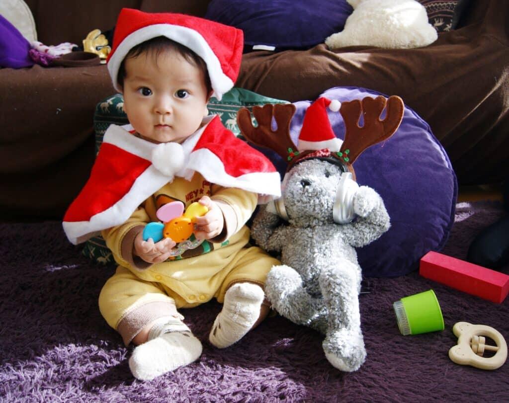 1歳前後の男の子におすすめのクリスマスプレゼント