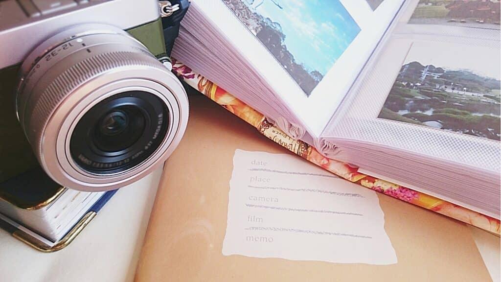 手作りエコー写真アルバムの作り方