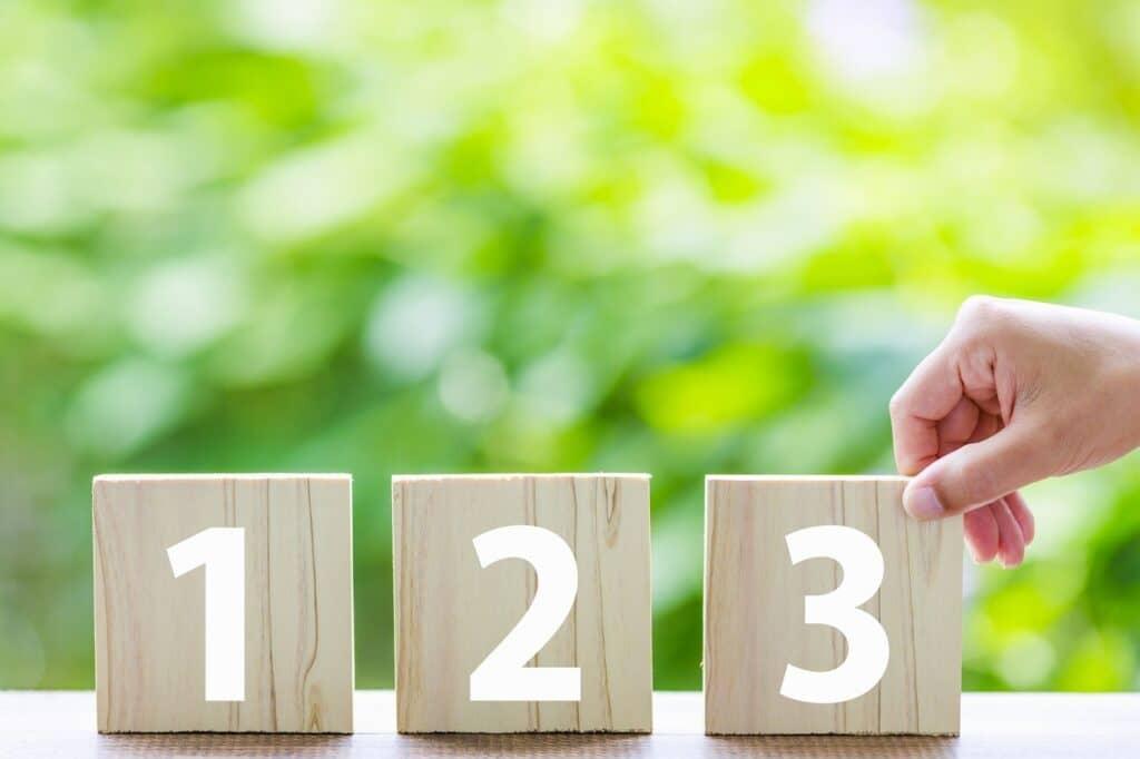 数字の理解